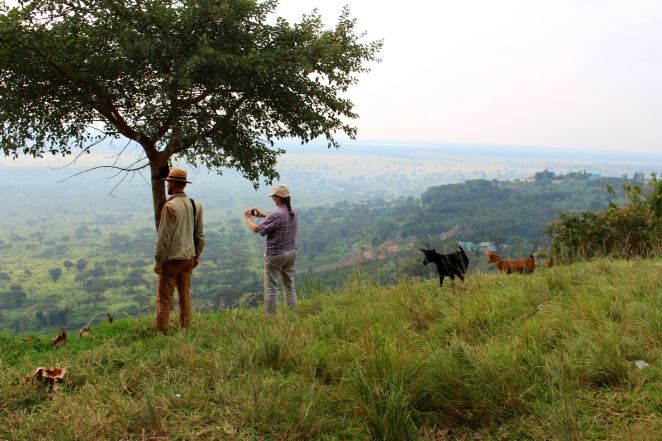 prof-dr-jens-gebauer-and-dr-katja-kehlenbeck-looking-toward-the-dry-borderlands-in-search-of-the-baobab-adansonia-digitata-in-west-nile-uganda-photo-by-cory-w-whitney